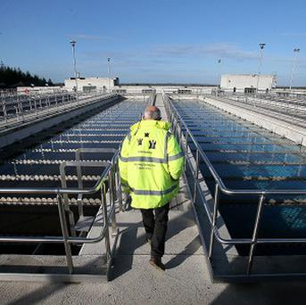 Water levels at the Ballymore Eustace treatment plant have been replenished over the weekend but are still a fifth lower than needed