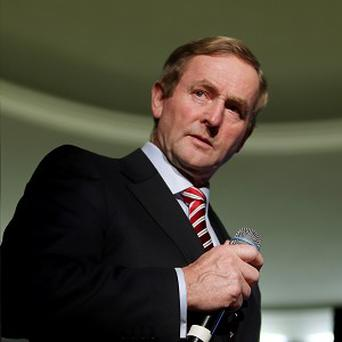 Taoiseach Enda Kenny's rating is down from 41pc to 36pc
