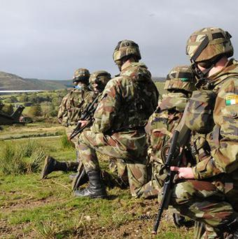 Irish troops serving in Syria were 200 metres from a firefight between Government and anti-government forces