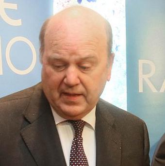 Finance Minister Michael Noonan said no decision had been taken as to whether Ireland would require a precautionary credit line