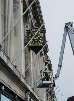 Clerys and other Dublin businesses have been urged to hire people off the Live Register