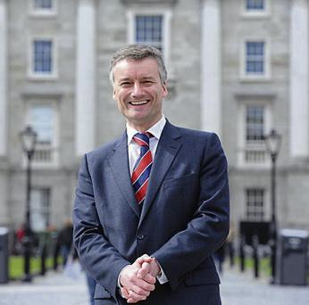Objection: Provost of Trinity College, Dr Patrick Prendergast has initiated the legal action