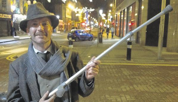 Ray Connolly and the crutch he used to attack Bertie Ahern