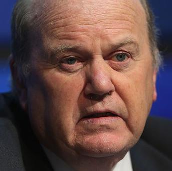 Finance Minister Michael Noonan has said no deal can be done on Ireland's legacy bank debt until at least the end of next year