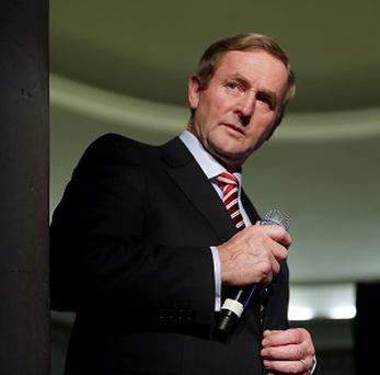 Enda Kenny has called for safeguards to protect people's bank accounts