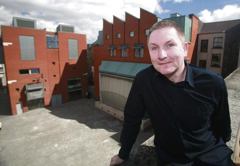 OUT OF OFFICE: Dermot McLaughlin, chief executive of Temple Bar Cultural Trust, who is suspended on full pay from his position. The trust has been embroiled in a number of controversies and is to be wound down by Dublin City Council