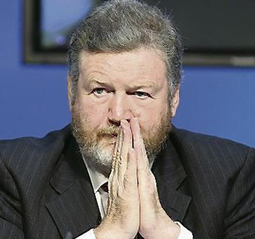 Health Minister James Reilly: accused of 'stroke politics'