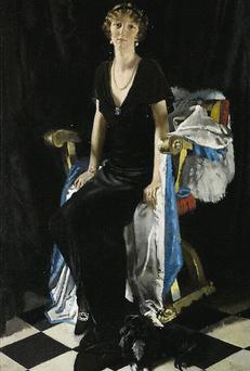 Portrait of Lady Idina Wallace