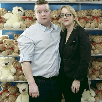 Dave Sheehan and his wife Yvonne lost their son Robbie