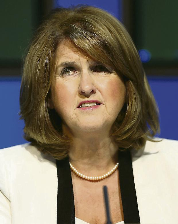 Social Protection Minister Joan Burton: urging schools to set up breakfast clubs and meals programmes.