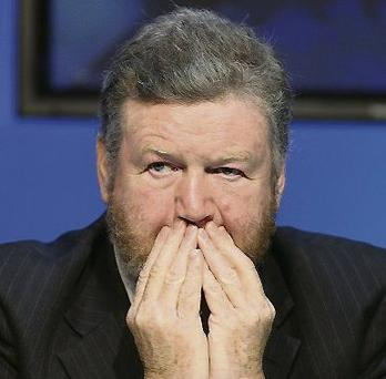 Dr James Reilly: blamed the 'extraordinary winter'
