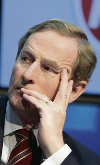 Taoiseach Enda Kenny: 'Never again' wants to see a boom-bust economy