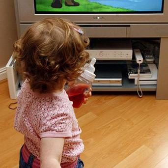 Weight problems in young children have been linked to the amount of time they spend in front of the television, computers and other electronic devices.