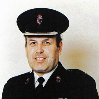 RUC officer Superintendent Bob Buchanan was killed in 1989 on the south Armagh border