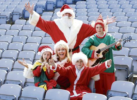 CHARITY SING-SONG: The carol singing record attempt will take place in Croke Park