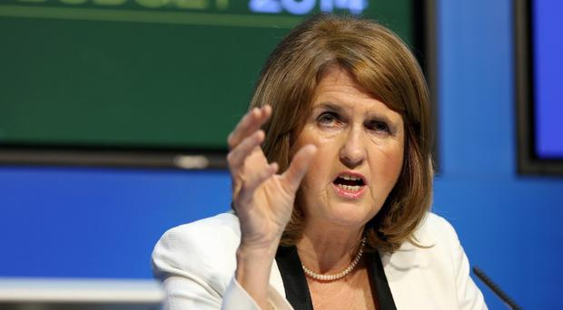 Joan Burton Minister for Social Protection