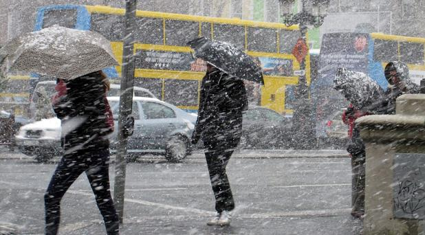 Wintry: Prepare for cold and frosty conditions