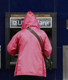 ATMs were inaccessible and credit cards were rejected