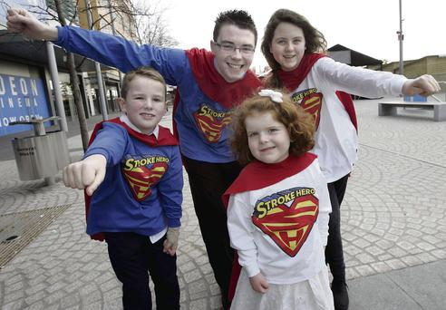 Jack Hersee (8), from Arklow, Wicklow; Alan Gleeson (21), from Ballymore Eustace, Kildare; Grace Manning (13), from Rathfarnham, Dublin; and Clara Le Blanc (4) from Howth, Dublin. Mark Stedman