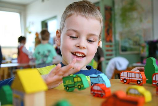 The high cost of childcare is preventing parents returning to work - Getty Images/Hemera