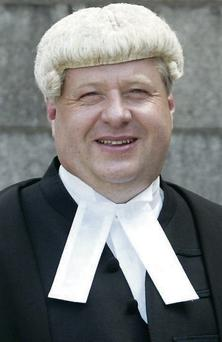 Mr Justice John Edwards: secretary of the AJI