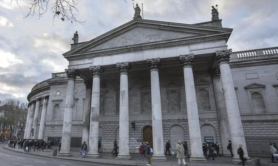 Bank of Ireland refused permission for exterior ATMs at College Green branch. Mark Condren