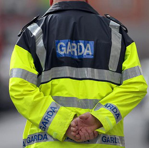 A body has been found in a burnt-out car in the Carlingford area of Co Louth, near the border.