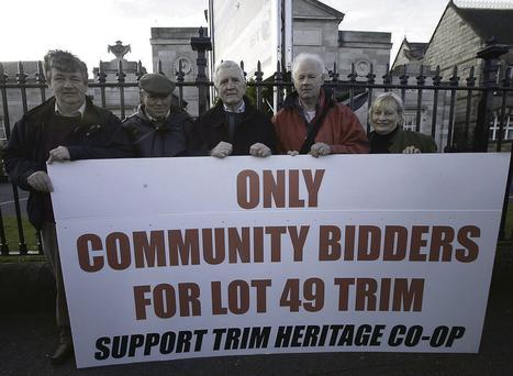 Protesters wanted to keep the community centre locally owned