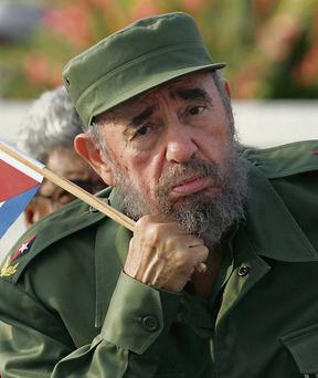 IDEALS: Fidel Castro, the former communist revolutionary leader of Cuba