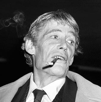 Peter O'Toole was known for hell-raising antics during much of his life