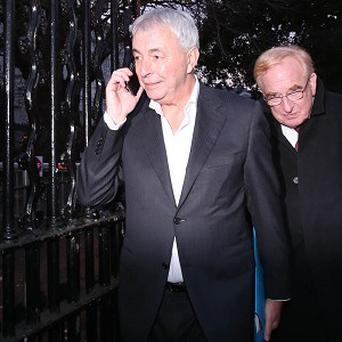 Paul Kiely (left), who is at the centre of the Central Remedial Clinic payments scandal, should be made to give more than an apology, according to PAC