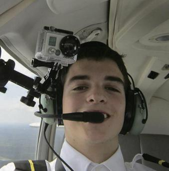 Richard Kealy training to be a pilot in Florida