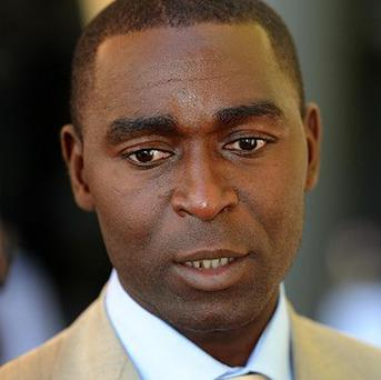 Former Manchester United star Andy Cole.