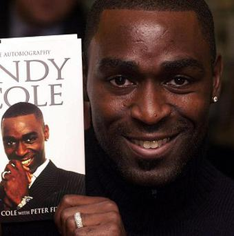 Former Manchester United footballer Andy Cole was on the flight from Dublin when incident happened