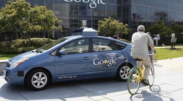 The Google driverless cars for trips in Silicon Valley after legislation was passed in California, Nevada and Florida Justin Sullivan/Getty