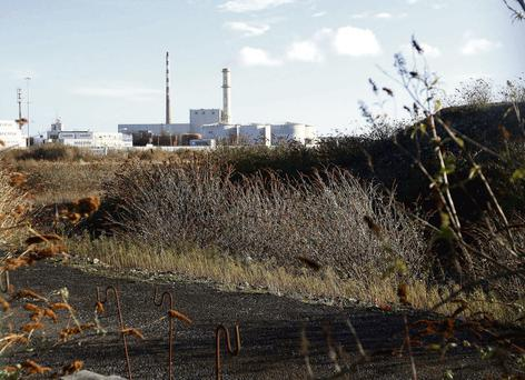 HUGE COST: The Irish Glass Bottle site, which sold for €412m, looks set to become a container site. Photo: Gerry Mooney