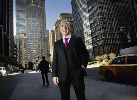 Sean Dunne, pictured on New York's Park Avenue. Photo: Neville Elder