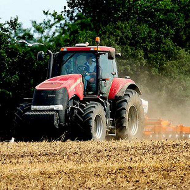It is understood that the man – who is aged in his 60s – was struck by his own tractor.