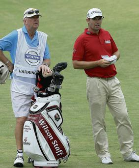 Pat Cashman and Padraig Harrington
