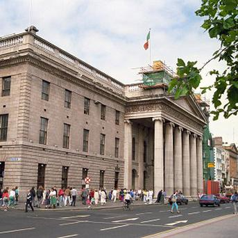 The General Post Office in Dublin, as the city is tipped to undergo a renaissance from property pariah to star market for commercial investors