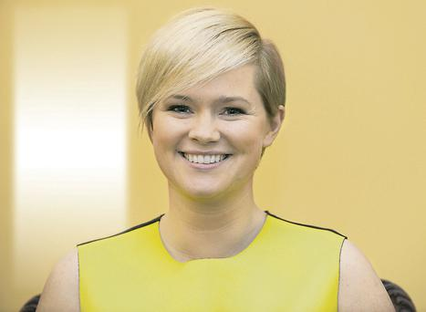 Cecelia Ahern in Munich, where she has written for the German TV series 'Heart Cinema'. Photo: EPA/ URSULA DUEREN