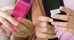 'One in four children' send or receive explicit messages.
