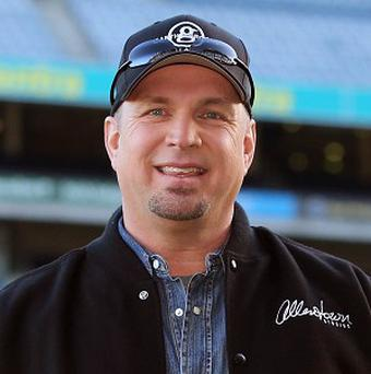 Garth Brooks at Croke Park stadium, Dublin, during an announcement that he will play at the stadium on July 25 and 26