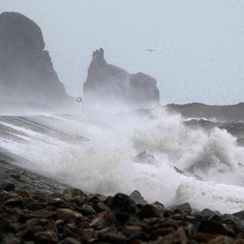 A severe weather warning has been issued for the west coast of Ireland