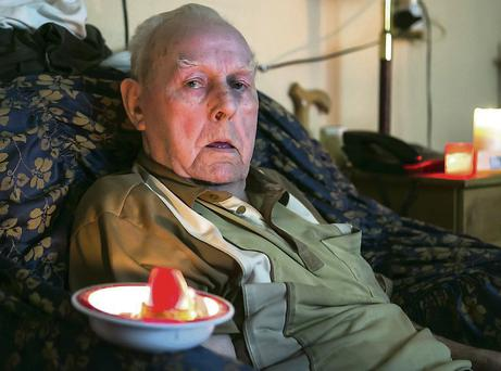 Limerick man Gus McNamara, 83, fell and hurt his hip during the electricity outage. Brian Gavin Press 22