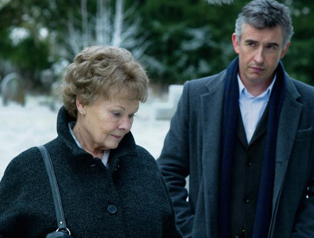 A scene set in Roscrea with Judi Dench as Philomena Lee and Steve Coogan as Martin Sixsmith.