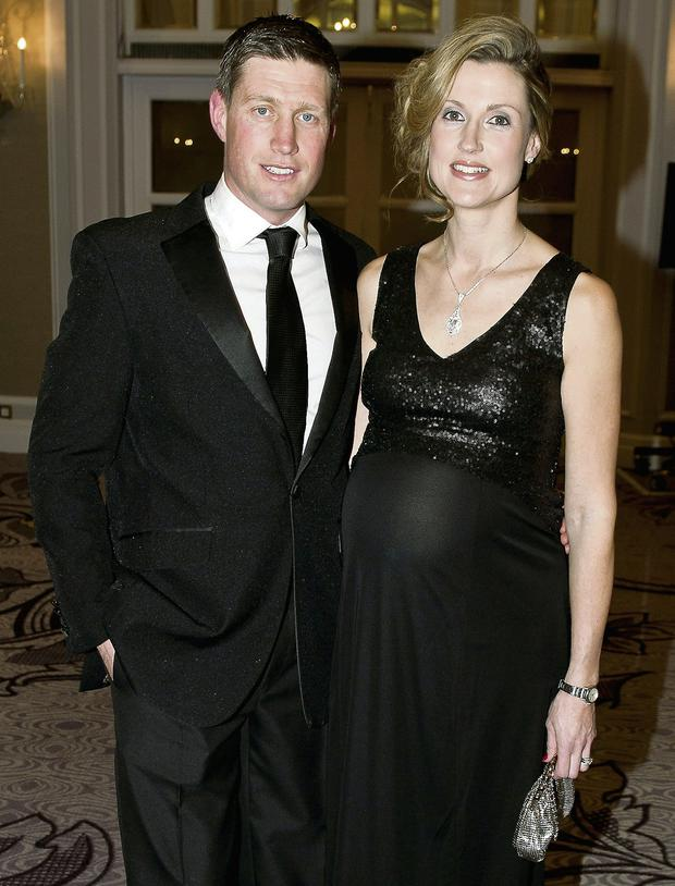 Ronan O'Gara and wife Jessica