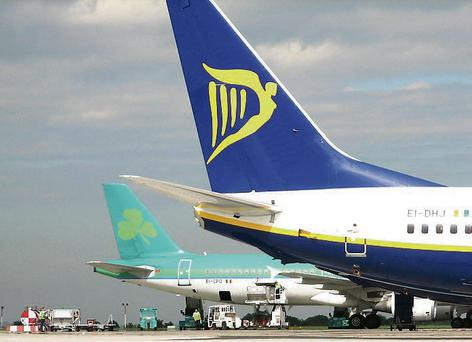 Flights to and from Ireland tomorrow will be affected by a planned French air traffic control strike.