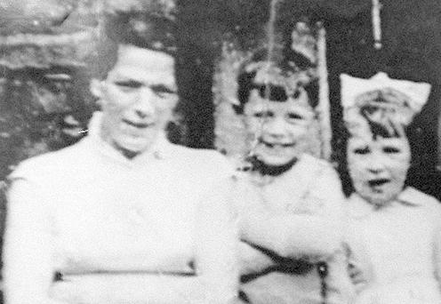 Jean McConville and two of her children before she disappeared