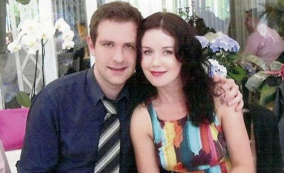 Jill Meagher with her husband Tom. Jill was murdered while walking home from a night out in Melbourne in 2012.